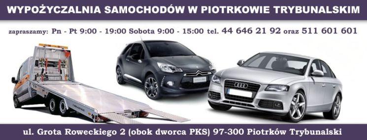 Wypożyczalnia samochodów Piotrków Trybunalski